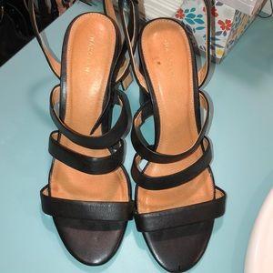 Halogen strappy block heels